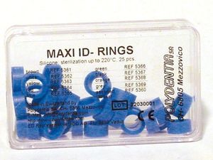 maxi id-rings coderingsringen blauw 5365 polydentia 25 st