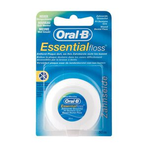 oral-b essential floss waxed